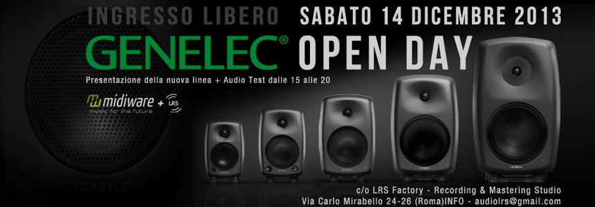 Genelec open day